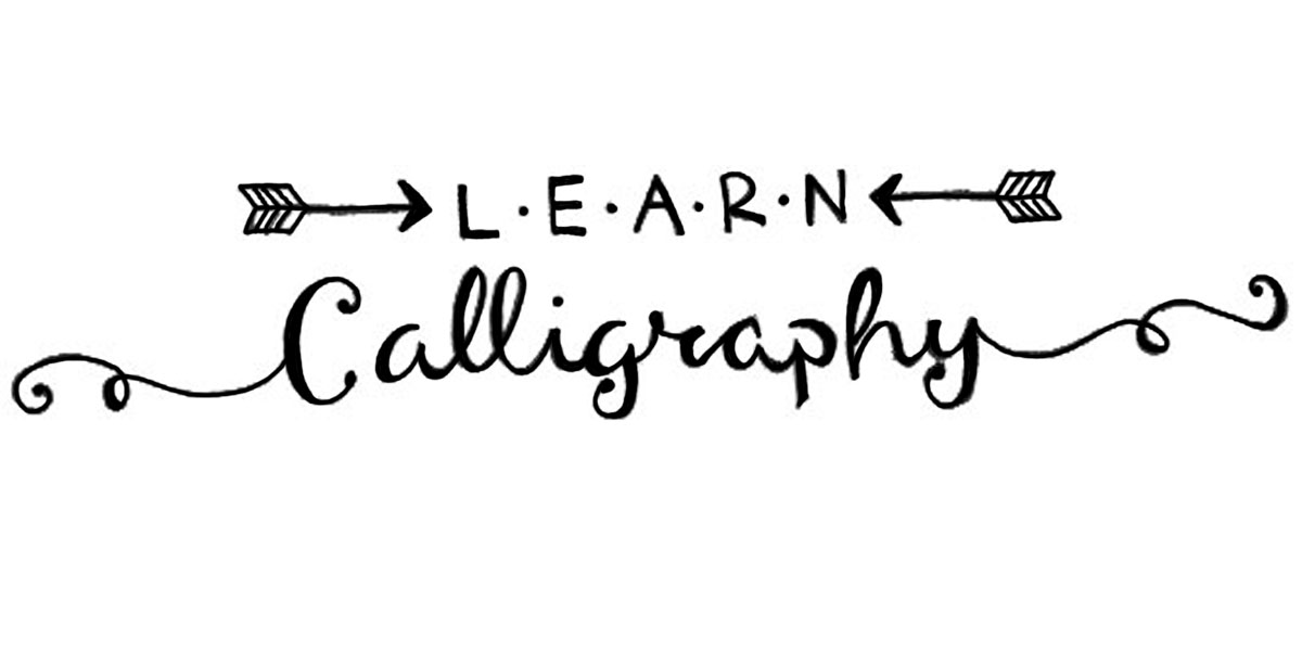 Fontaholic tuesday tip learn how to make calligraphy Caligraphy i