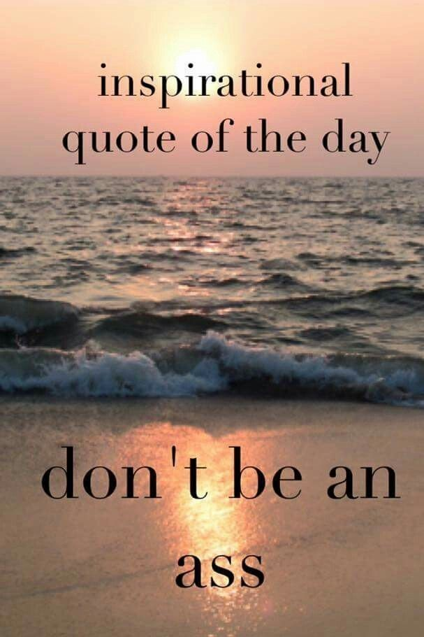Do not be one