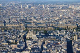 Der Louvre von oben