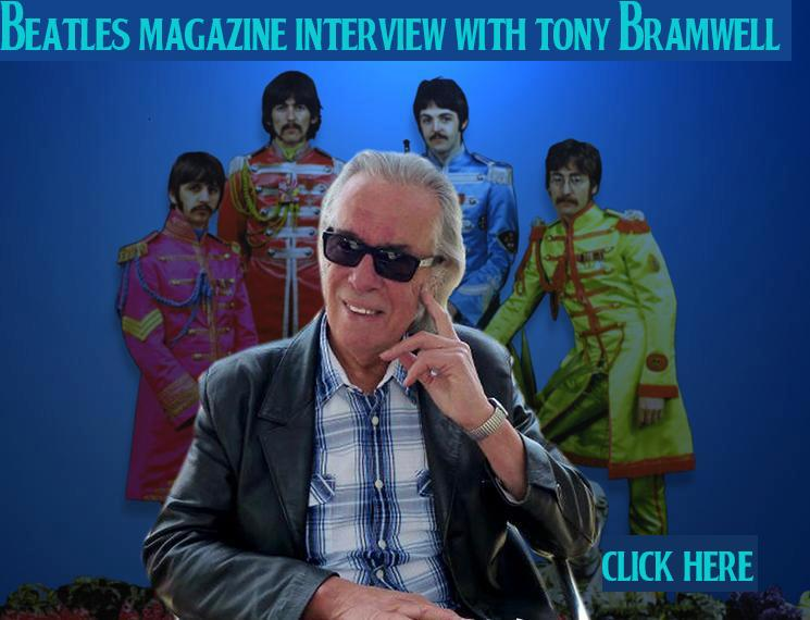 BEATLES MAGAZINE INTERVIEW WITH TONY BRAMWELL