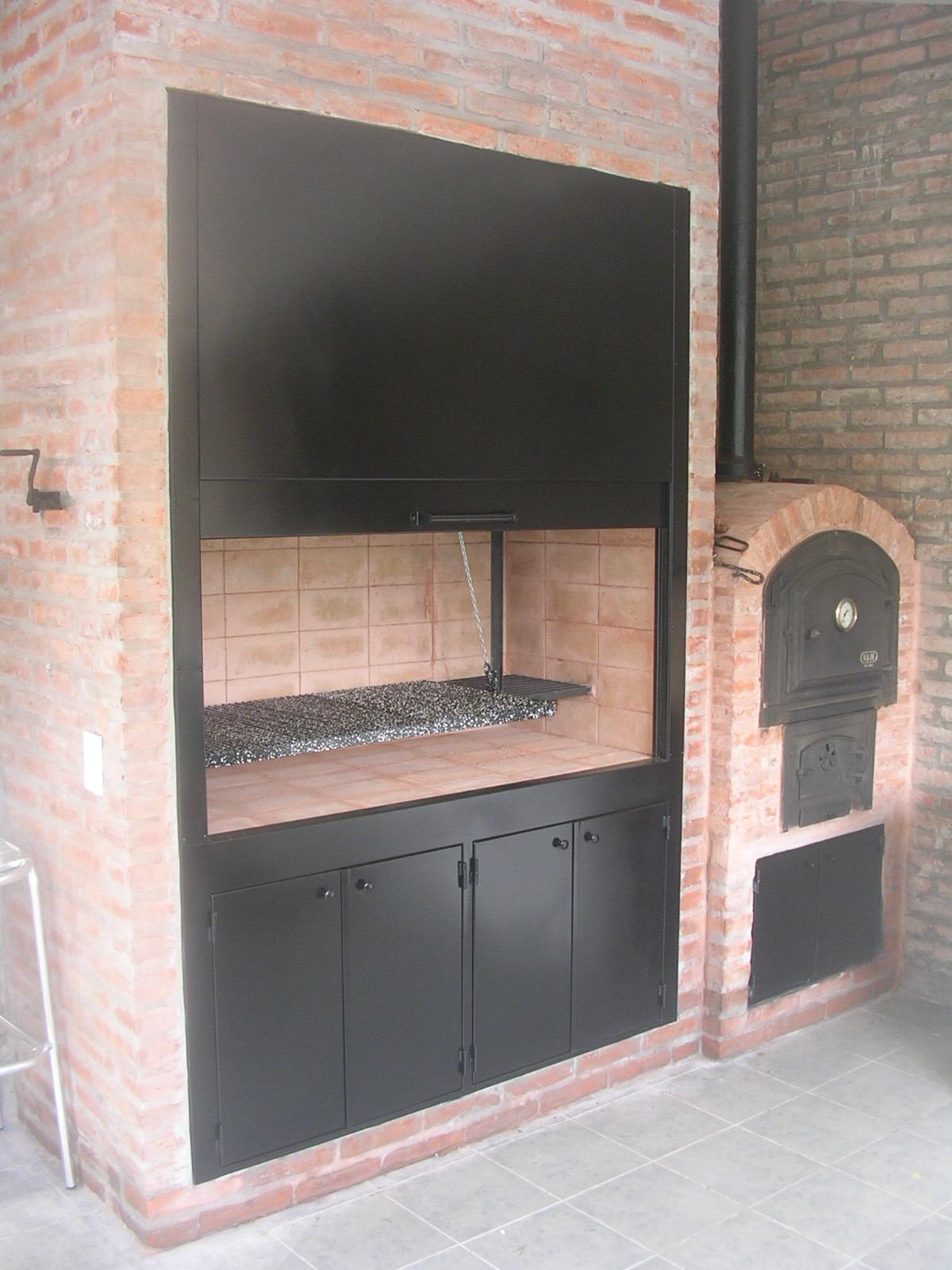 Pablo dibar arquitecto casa boating club remodelacion de parrilla y horno a lena - Parrillas y hornos a lena ...