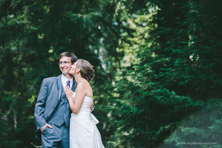 """""""sweet bride and groom photos at mountain wedding"""""""