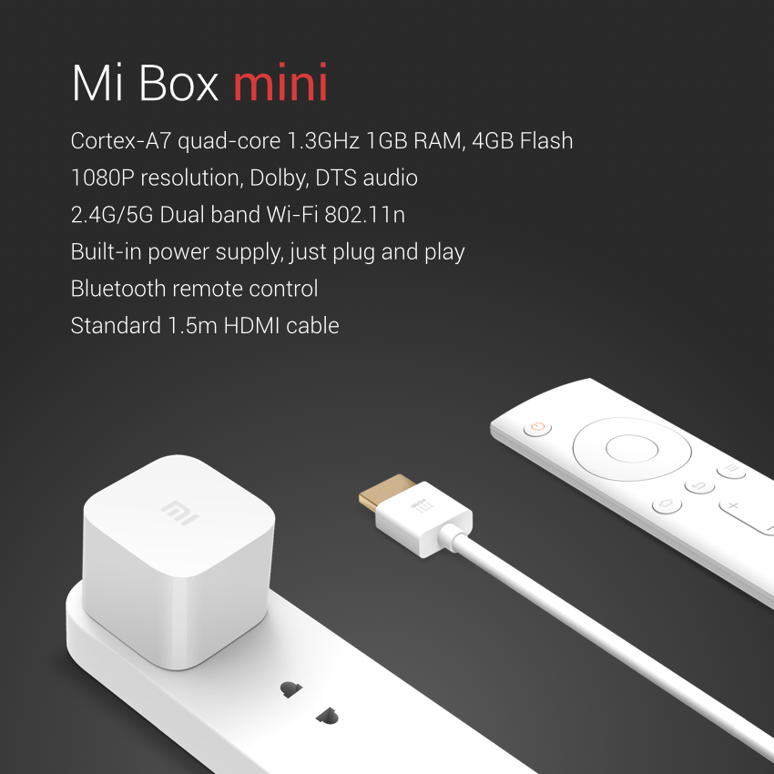 Xiaomi Mi Box Mini Turn The Smart TV