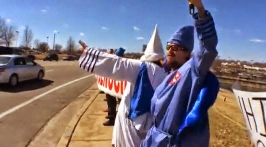 """The """"World Wide Wide Man March"""" to Washington, DC drew 10 people - Mar 15, 2014"""