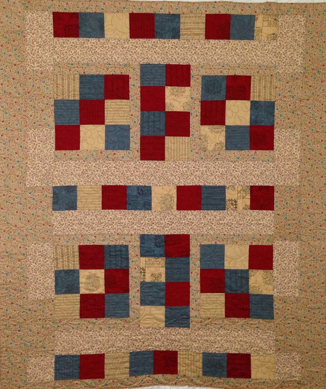 Laura Joy's Geometric Quilt