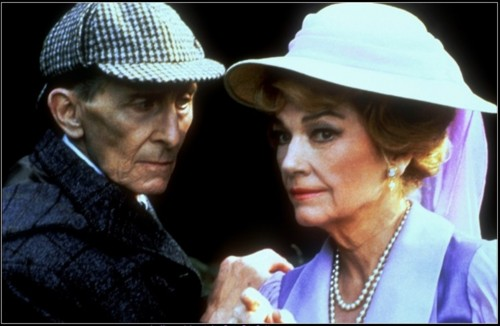 Masks of Death Starring Peter Cushing and Irene Adler