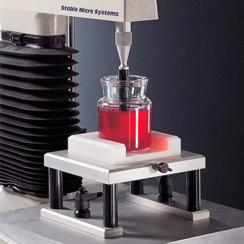 Bloom jar gel test using the TA.XTplus Texture Analyser