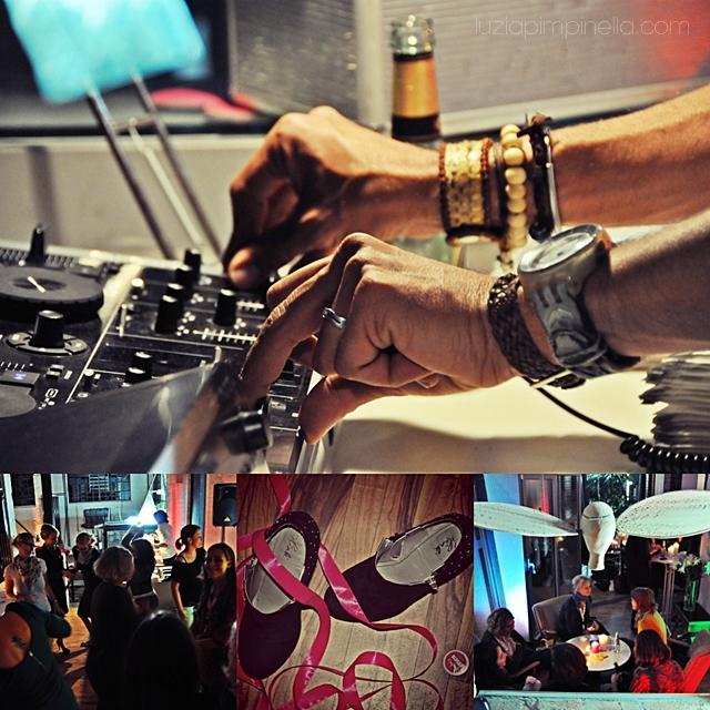 [ luzia pimpinella BLOG ] eine fotocollage mit bildern von der BLOGST blogger konferenz: DJ und tanzfläche