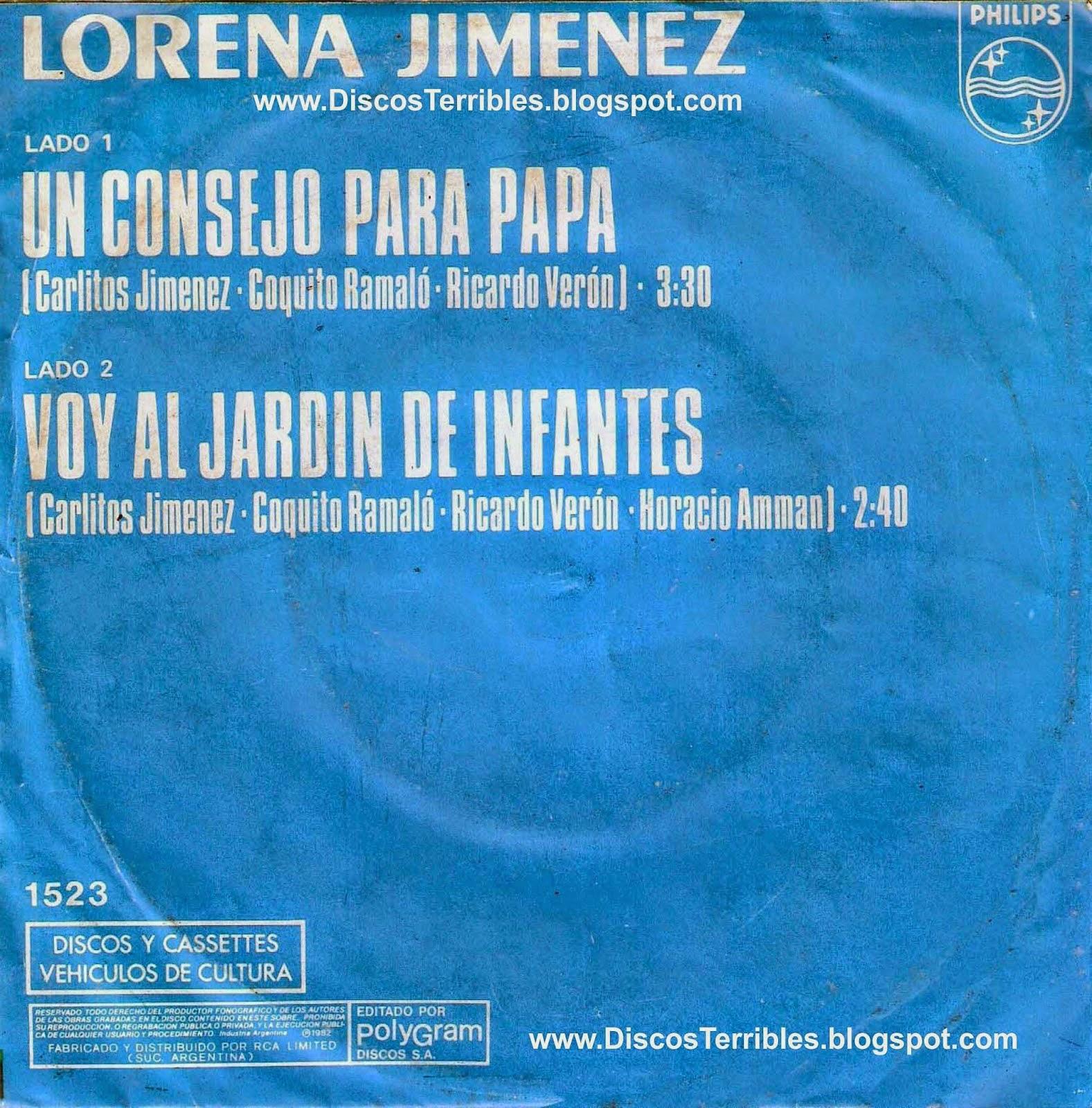 lorena jimenez canciones para papa