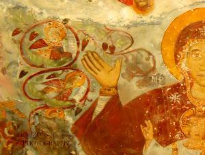 Παναγία Σουμελά-Αγιογραφίες εσωτερικού του ναού.