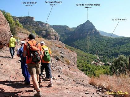 El Turó de les Onze Hores des de la Roca Roja. Autor: Carlos Albacete