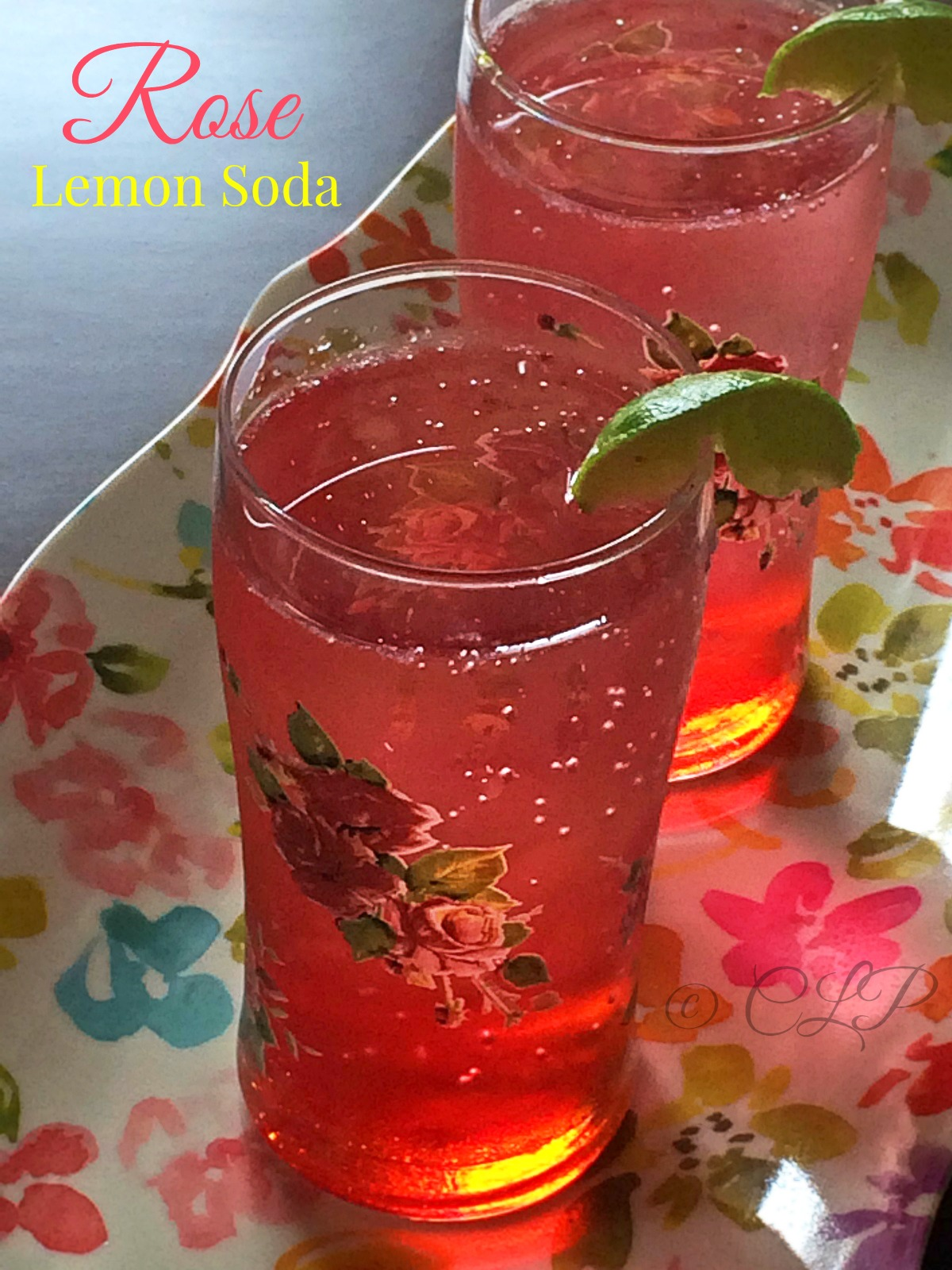 Rose Lime Soda