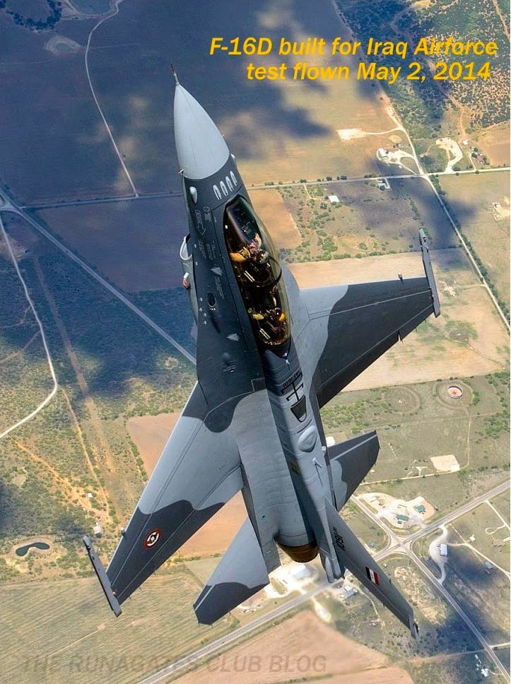Iraqi Airforce  F-16D Fighting Falcon - Lockheed Press handout