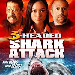 Poster 3-Headed Shark Attack 2015