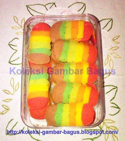 Gambar Kue Lidah Kucing Rainbow | Koleksi Gambar Bagus