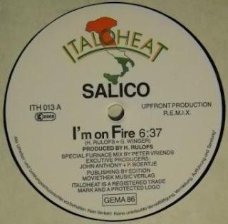 SALICO - I\'m On Fire (1986)