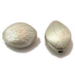Newest sterling silver brushed beads