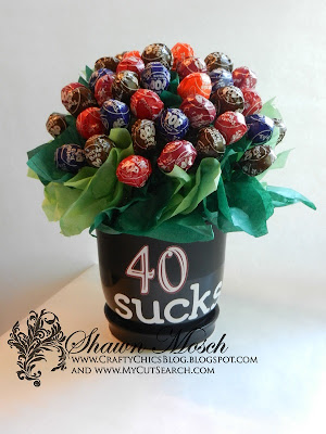 Tootsie Pop Bouquet