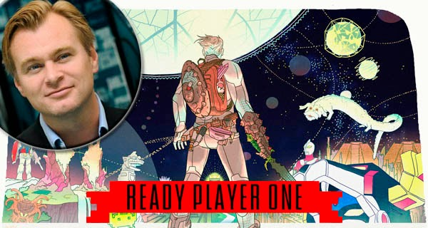 "Christopher Nolan adaptará la novela ""Ready Player One"""