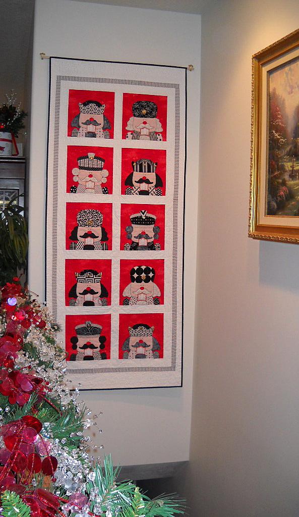 Amy Bradley Designs: Nutcracker : nutcracker quilt - Adamdwight.com
