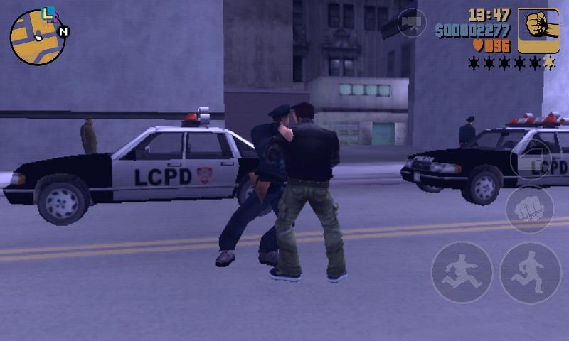Grand Theft Auto III v1.4 Apk + Mod + Data