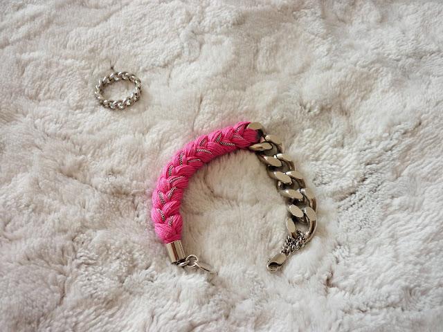bague et bracelet bijoux Ma Demoiselle Pierre en Palladium