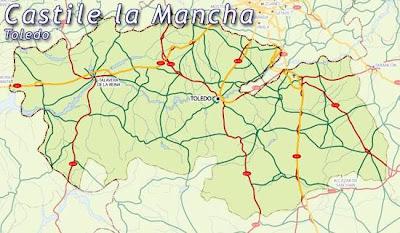 Toledo Mapa Ciudad de la Región