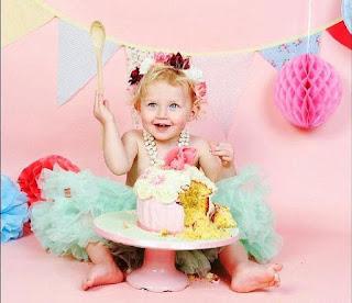 Foto Gambar Bayi Ulang Tahun Cute Banget