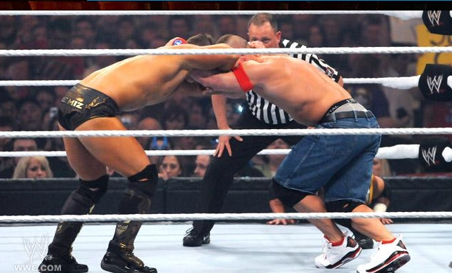 Wwe Extreme Rules 2011 The Miz Vs John Cena Vs John ...
