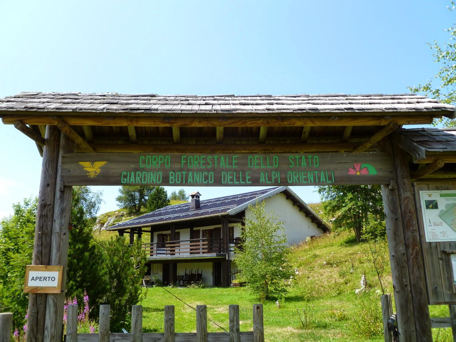 Giardini Botanici Alpini E Dei Semplici Giardino Botanico Nevegal