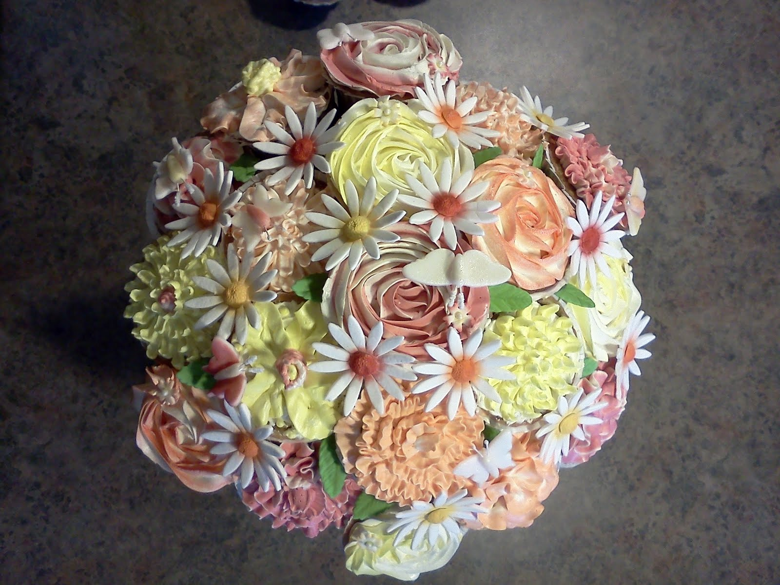 Flower Pot Cupcake Bouquet