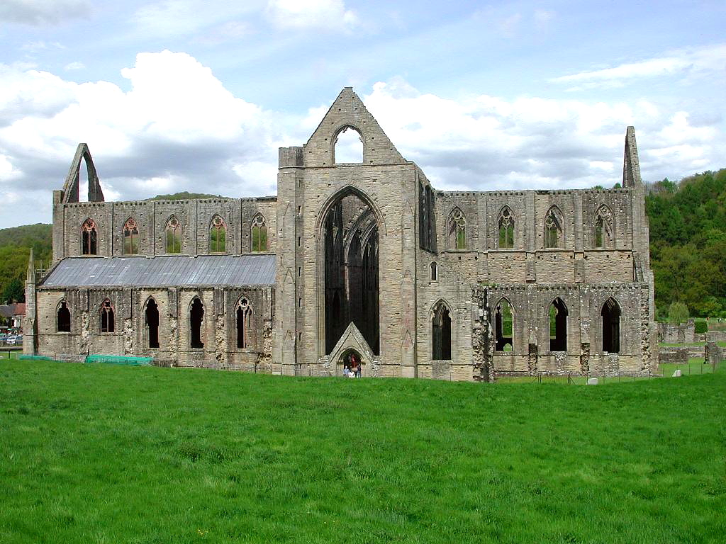 The Screaming Pope Tintern Abbey