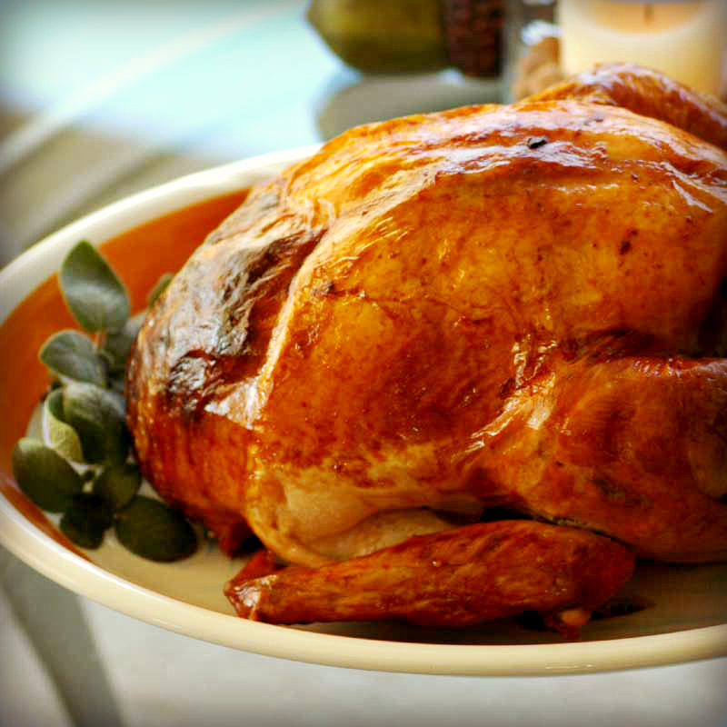 Dried Brined Turkey