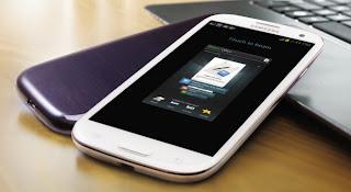 S Beam of Samsung Galaxy SIII