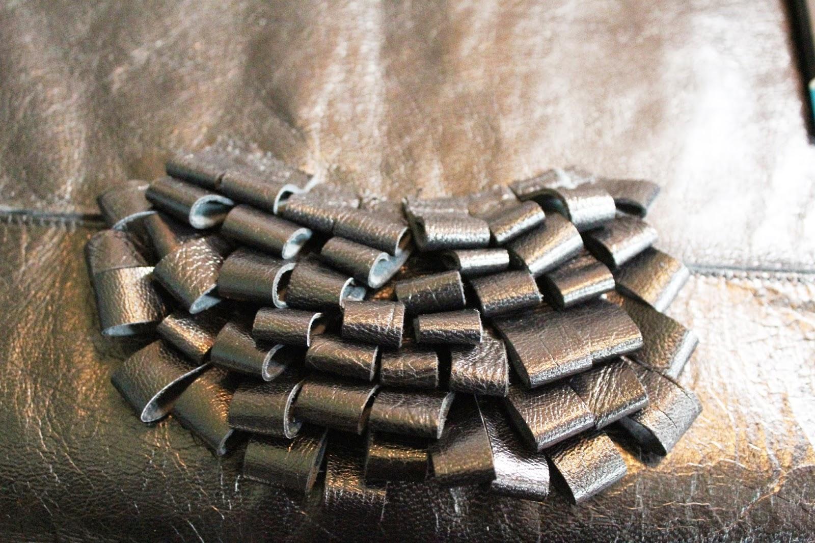jak uszyć naszyjnik z recyklingu,pomysły na biżuterię zrób to sam,blog DIY,inspirujący blog DIY