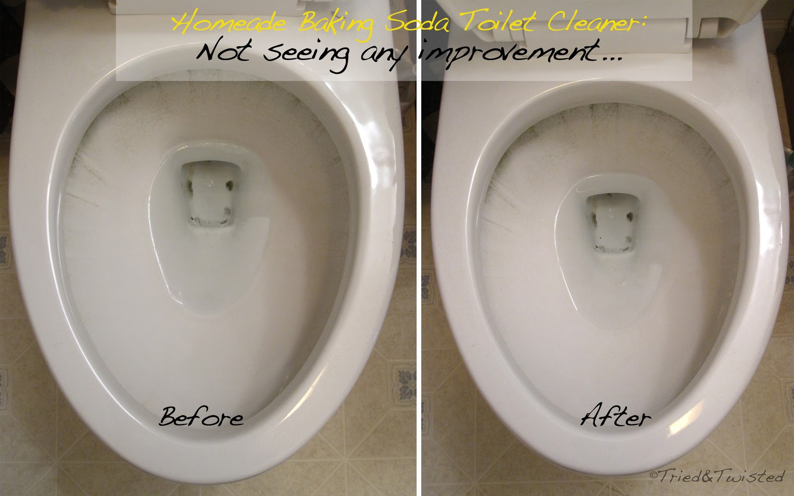 Homemade Toilet Cleaner Doesnt Work