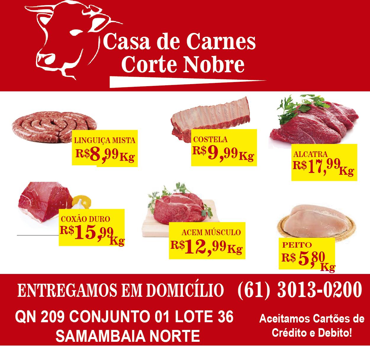CASA DE CARNES CORTE NOBRE