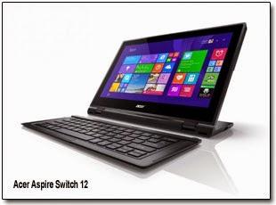 Планшет «2-в-1» Acer Aspire Switch 12 анонсирован в России.