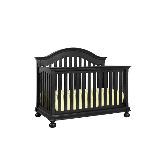 Antique Black Crib