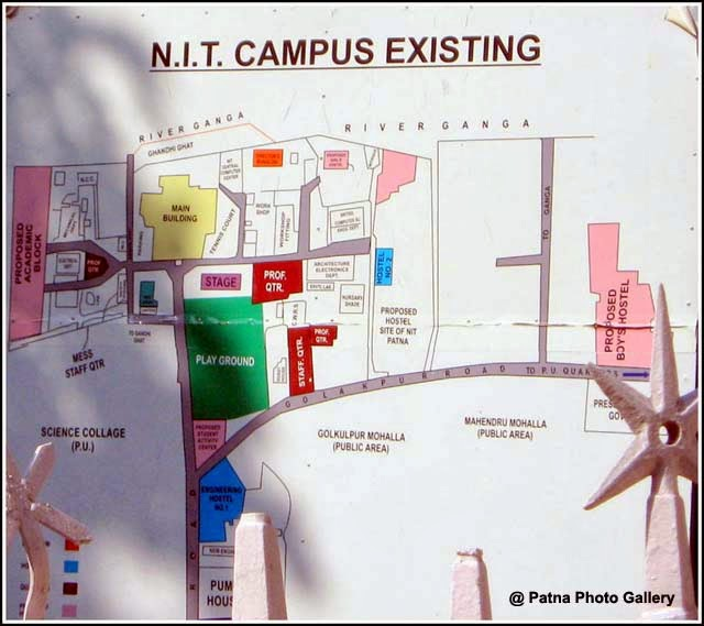 National Institute of Technology Patna Campus Plan