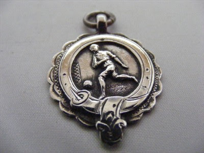 ANTIQUE VINTAGE SOLID SILVER ALBERT WATCH CHAIN FOB MEDAL. MANY FOBS FOR SALE