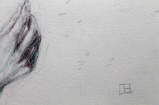 le frère, retrato, bolígrafo