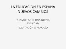 LA EDUCACIÓN EN ESPAÑA