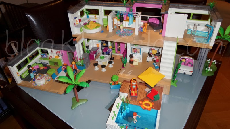 Nouveaut s playmobil 2014 villa moderne luxusvilla for Extension maison 4279