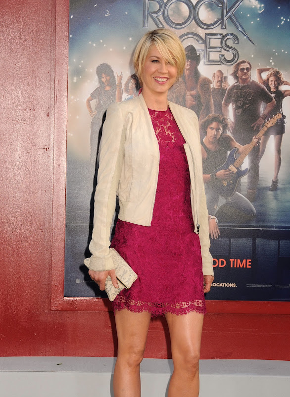 Jenna Elfman attends Rock of Ages Premiere in Hollywood