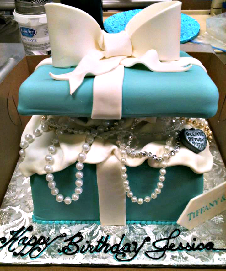 Tiffany Co Birthday Cake