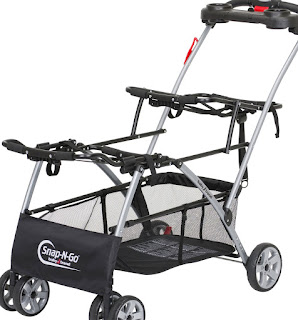 Lightweight Convenient Baby Trend Car Seat Stroller Frames