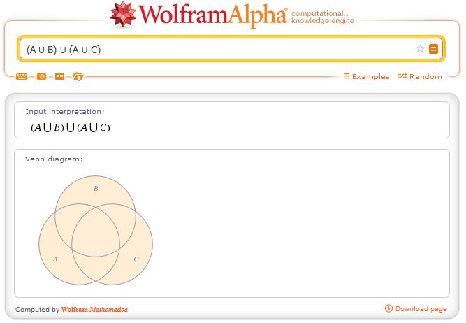 http://www.wolframalpha.com/input/?i=%28A+%E2%8B%83+B%29+%E2%8B%83+%28A+%E2%8B%83+C%29