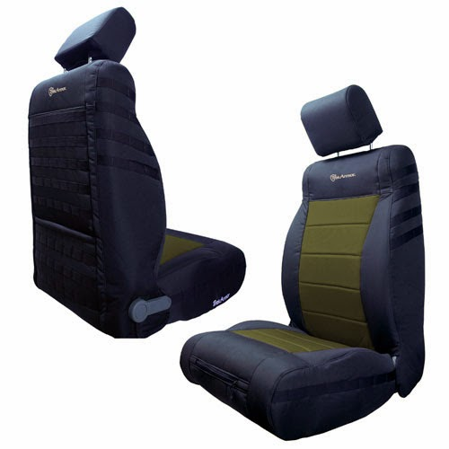 Front Seat Cover JEEP JK Wrangler 2013 To 2014 By Trek