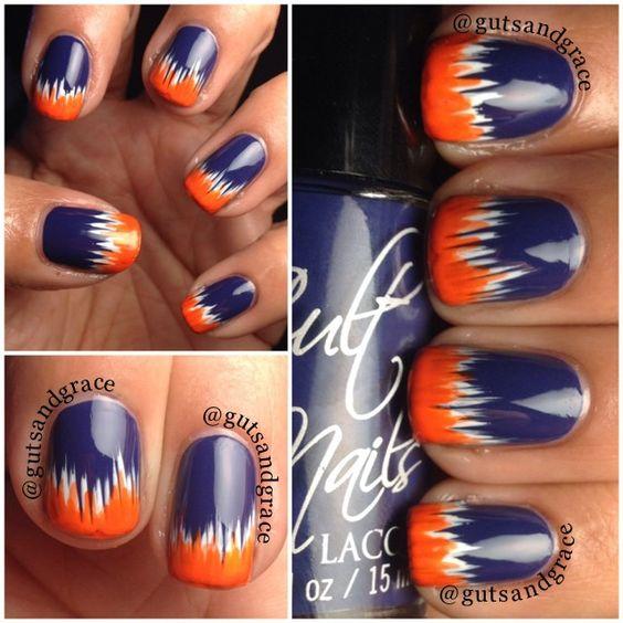 Super Bowl 2016: Panthers Nails VS. Broncos Nails!!! - OMG Love Beauty!